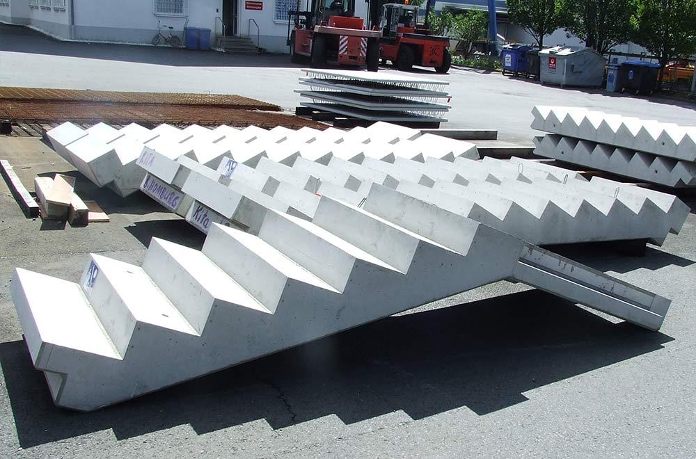 Fertigtreppen für den Wohnungsbau aus Beton | thomas gruppe