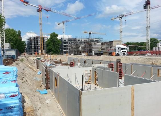 Bauprojekt: HOWOGE Wohnanlage, Berlin-Karlshorst | thomas gruppe