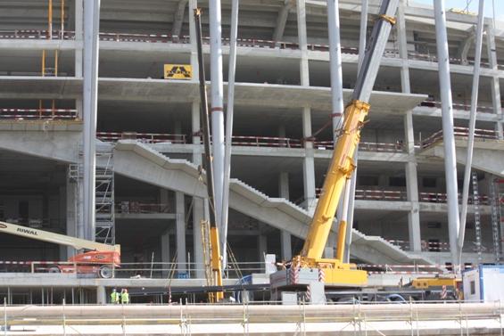 Treppen für das Nationalstadion Warschau | thomas gruppe