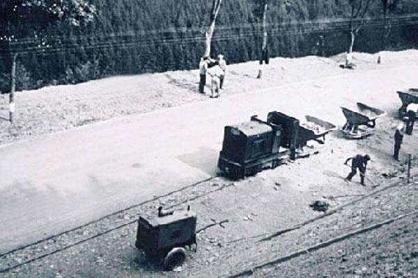 Bau der Hunsrückhöhenstraße in den 30er Jahren | thomas gruppe