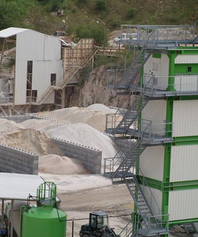 Gesteinskörnung für Asphaltmischanlagen | thomas gruppe