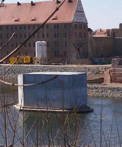 Beton für Wasserbau | thomas gruppe