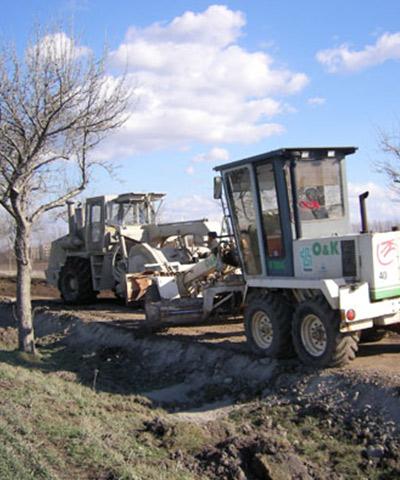 Spezialbindemittel für Bodenverbesserung und Bodenbefestigung | thomas gruppe