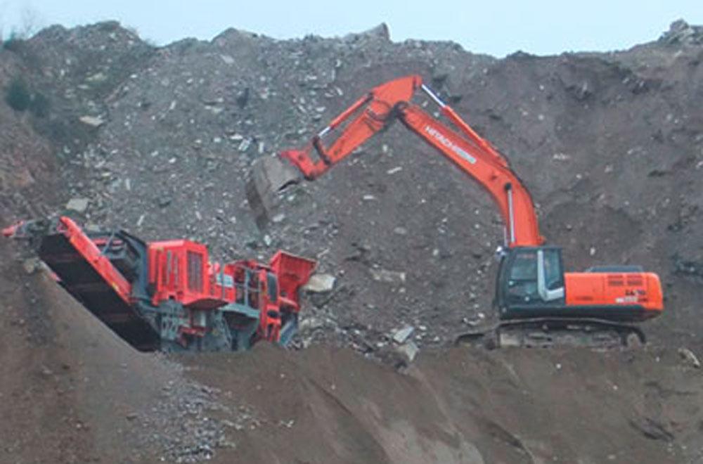 Entsorgung und Verwertung von unbelastetem Bauschutt und Betonaufbruch | thomas gruppe