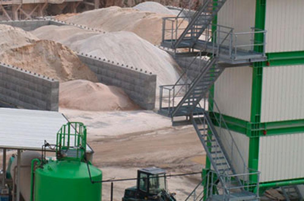 Gesteinskörnung für Asphaltmischanlagen   thomas gruppe