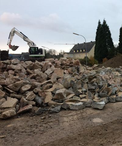 Beton- und Bauschuttrecycling | thomas gruppe
