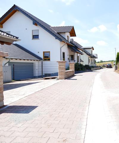 Erd- und Straßenbau zur Erschliessung von Baugebieten | thomas gruppe