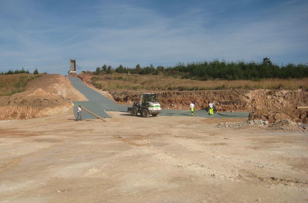 Bau der Infrastruktur für Windparkanlagen | thomas gruppe