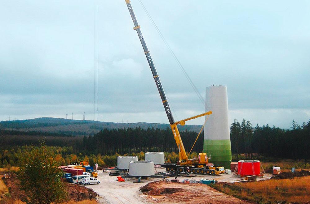 Bau von Infrastruktur für Windparkanlagen | thomas gruppe