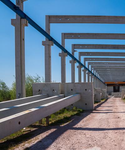 Stützen, Balken, Unterzüge und Stürze aus Beton | thomas gruppe