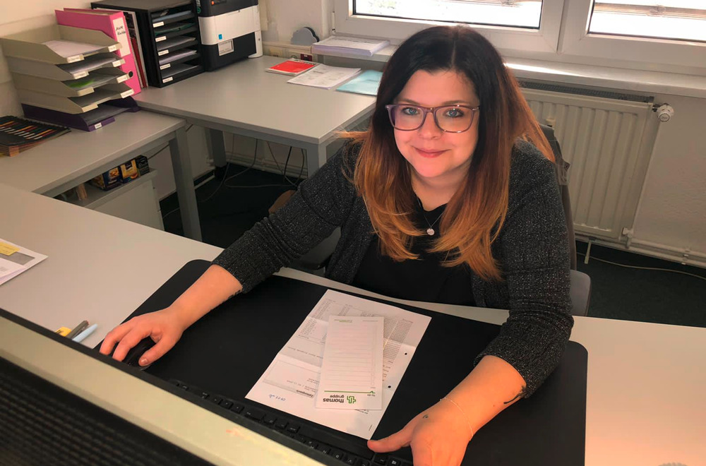 Mitarbeiterin Marie Knobbe | thomas gruppe