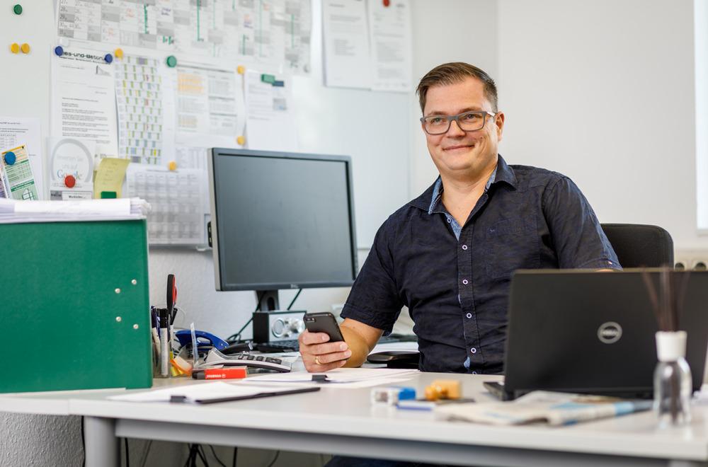 Mitarbeiter Sven Eisenbrand | thomas gruppe