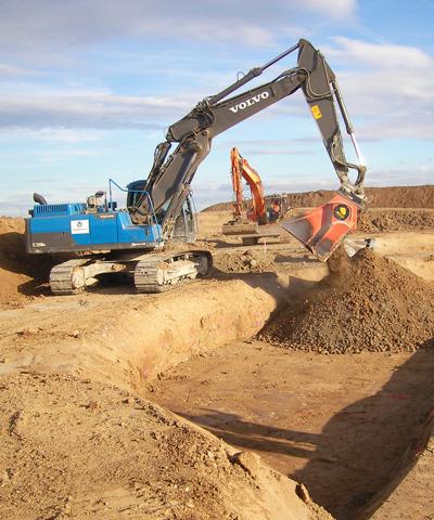 Spezialbindemittel für Bodenverbesserung und Bodenbefestigung | rheoroad HRB E2 | thomas gruppe