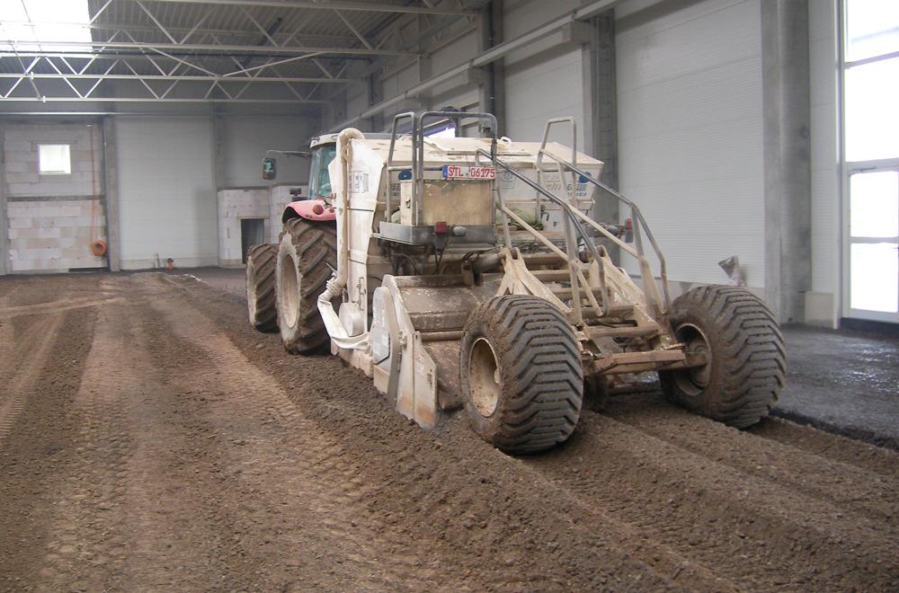 Spezialbindemittel für Bodenverbesserung und Bodenbefestigung | rheoroad HRB E4 | thomas gruppe