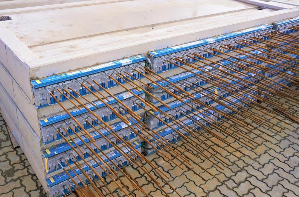 Betonbauteile, Fertigteile für den Wohnungsbau | Balkone | thomas betonbauteile