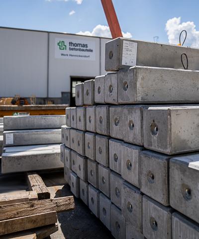 Betonbauteile, Fertigteile für den Wohnungsbau | thomas betonbauteile
